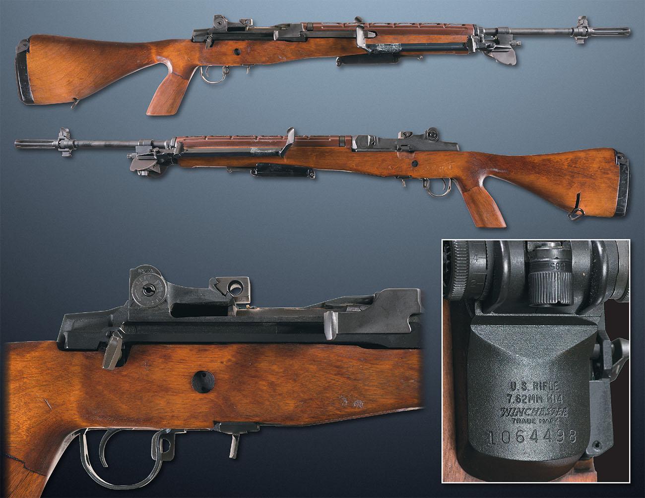 Автоматическая винтовка M14 производства компании Winchester