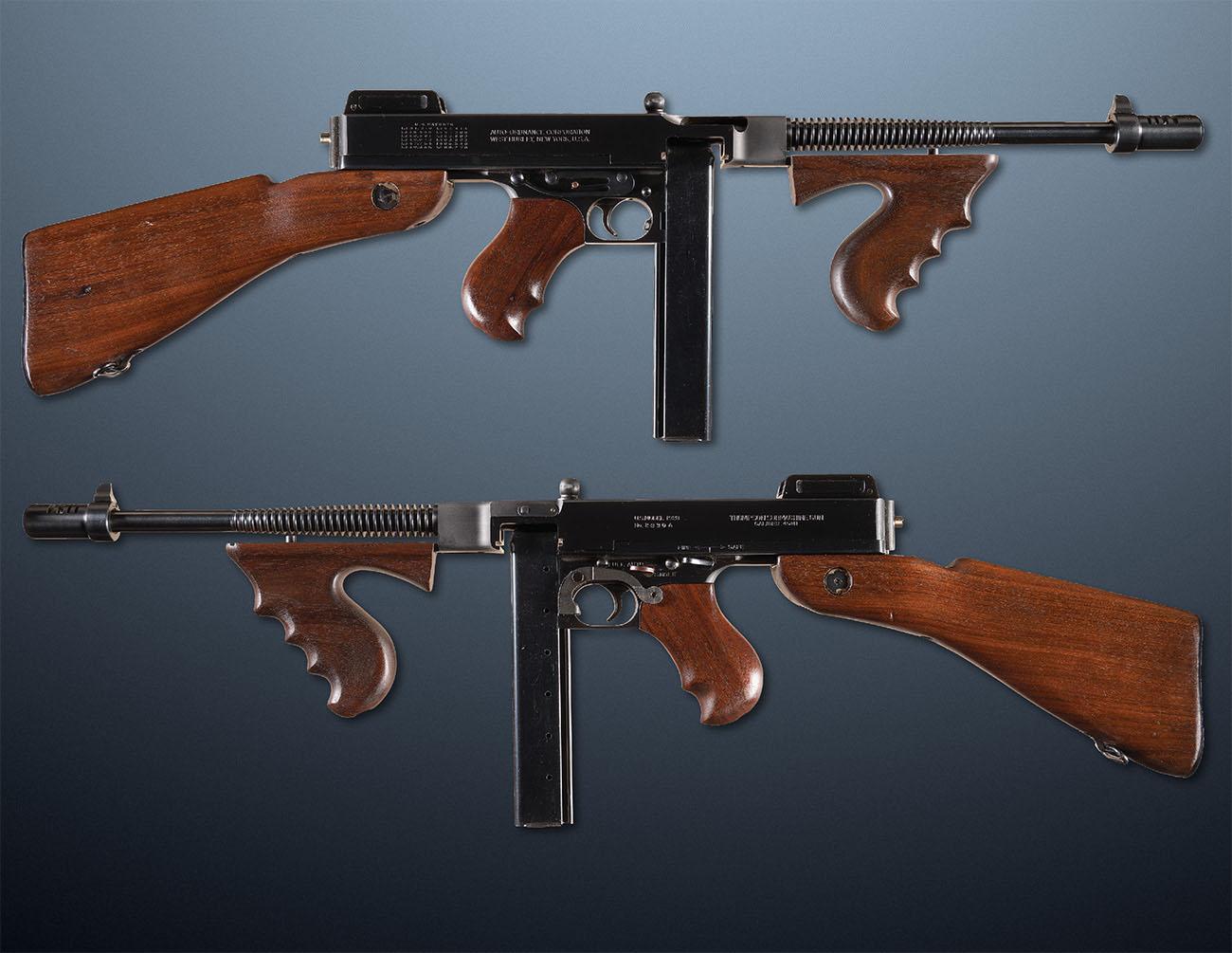 Пистолет-пулемёт Томпсона. Submachine gun M1928 Thompson