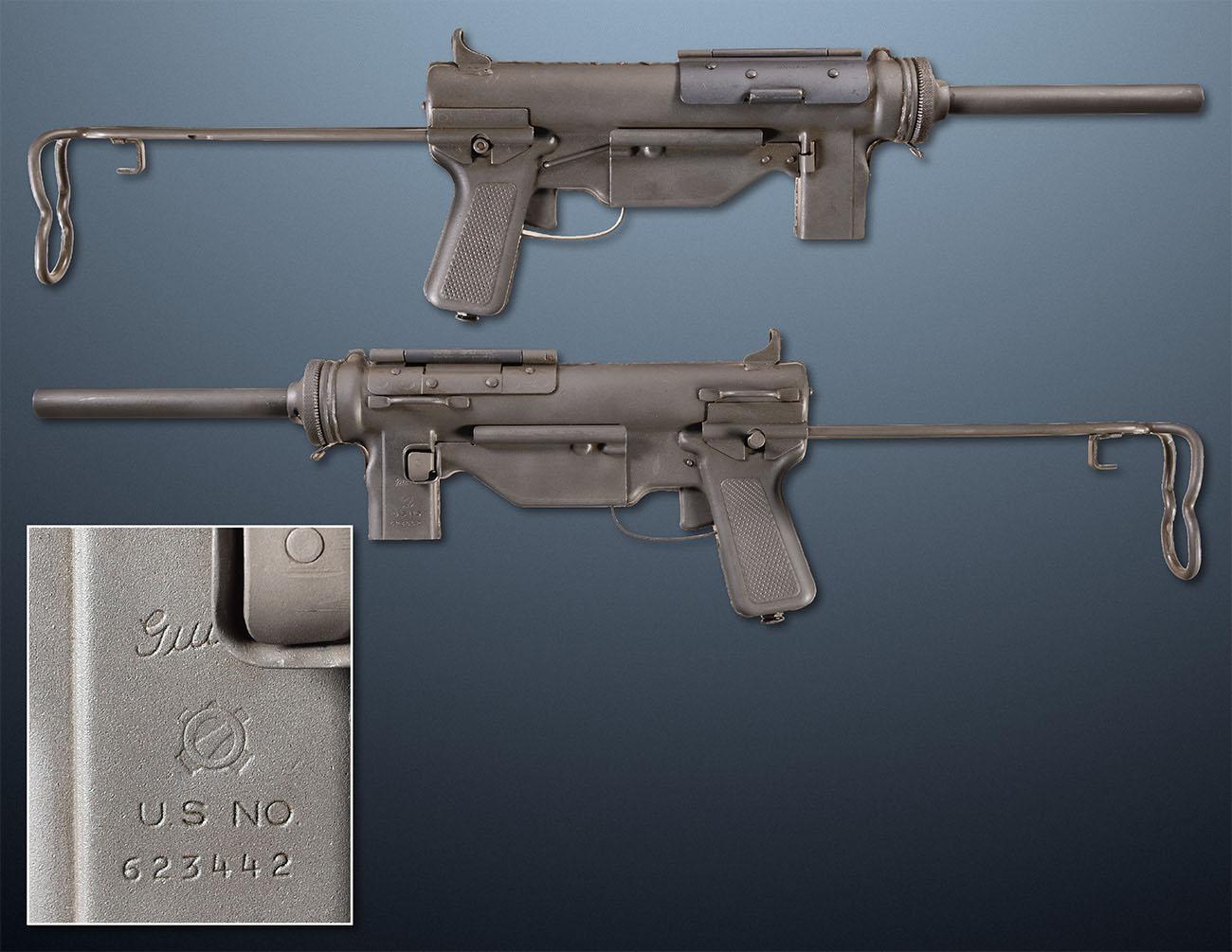 Пистолет-пулемет M3 Grease