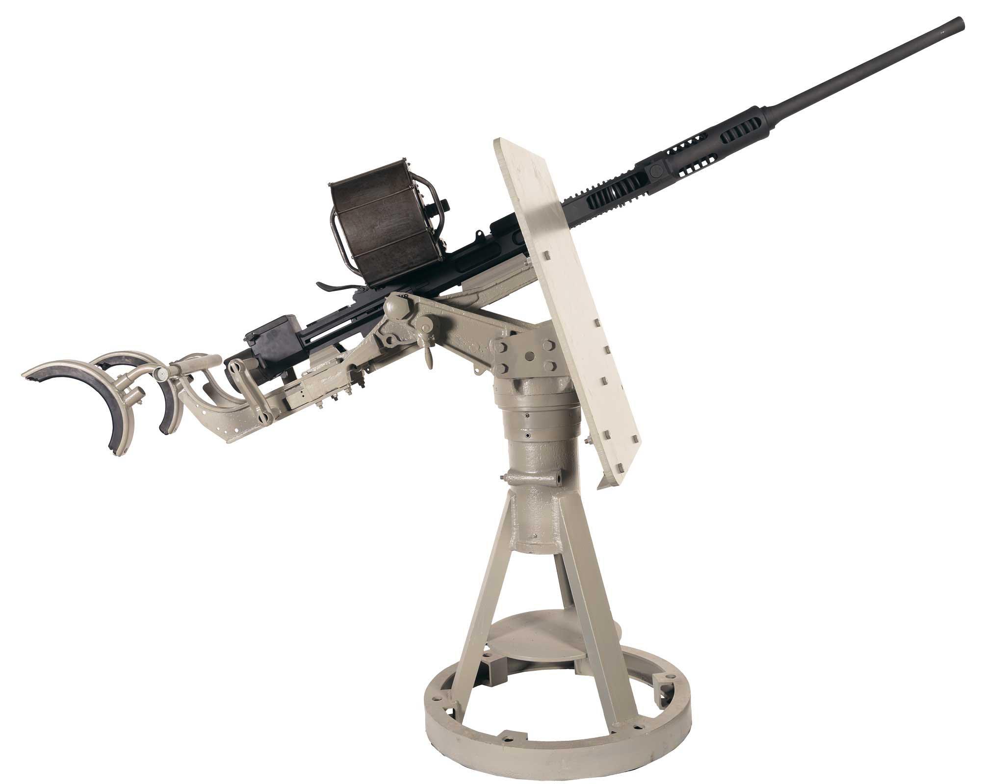 20 мм пушка Эрликон со станком и 60-и зарядным магазином
