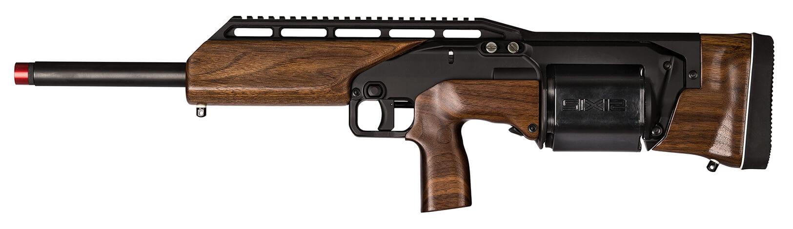 Six 12 - револьверный буллпап дробовик 12 калибра