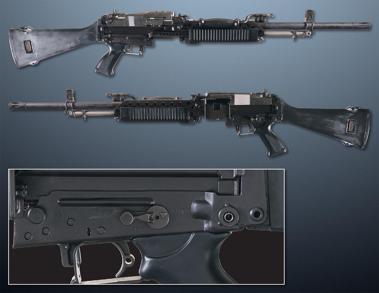 Ручной пулемет Stoner M63