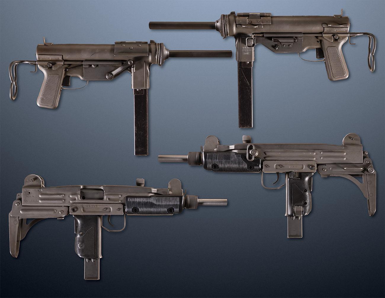 Пистолеты-пулеметы UZI и M3 Grease
