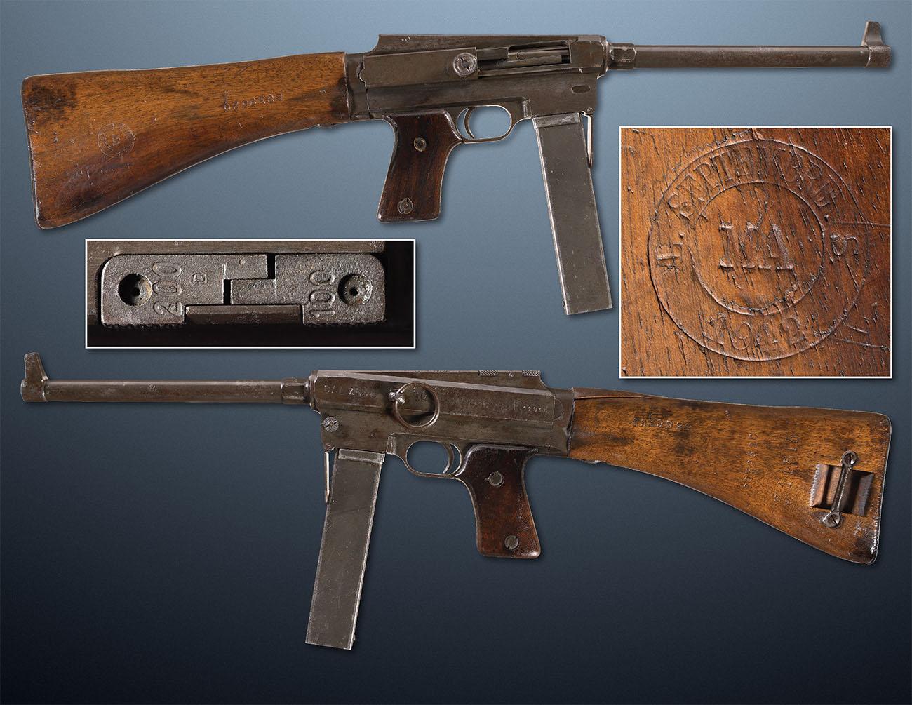 MAS 38 (Manufacture d'armes de Saint-Étienne) — французский пистолет-пулемёт