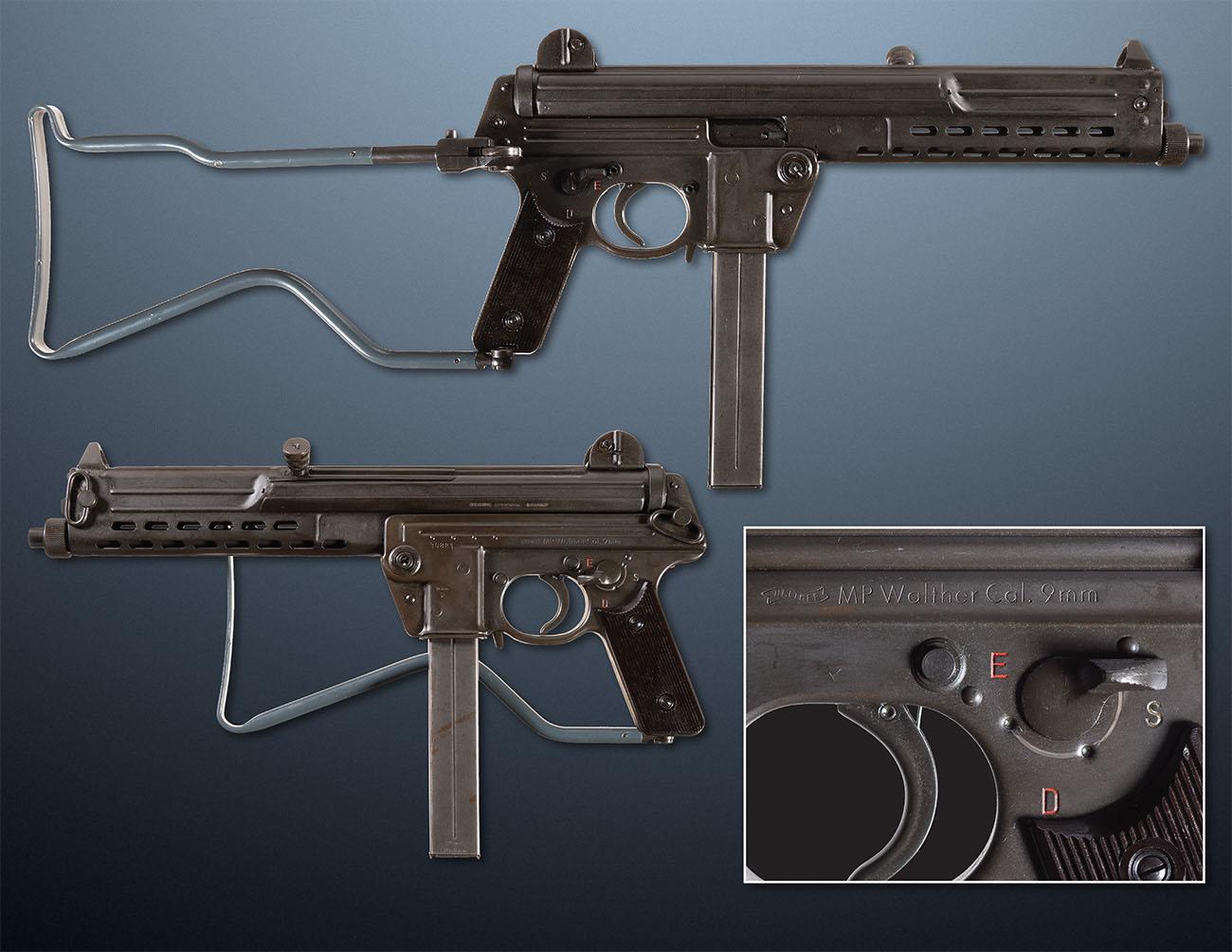 Пистолет-пулемет Walther-MPL, Германия
