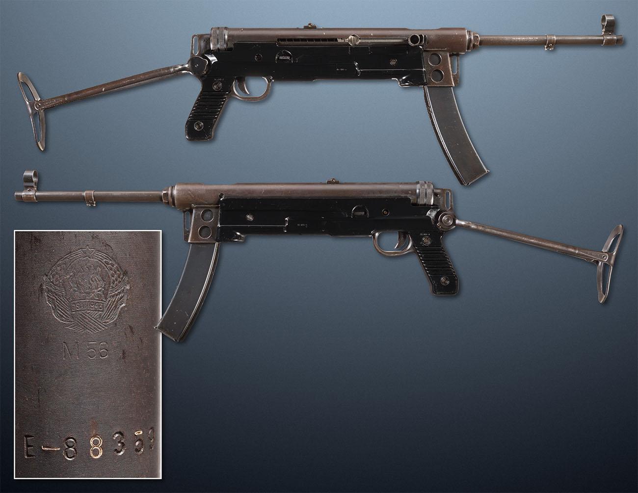 Пистолет-пулемет M56, Югославия