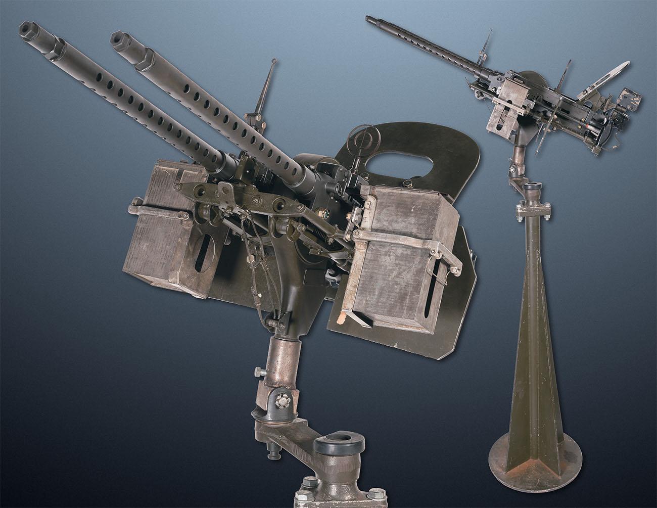 Сдвоенная установка пулеметов M1919