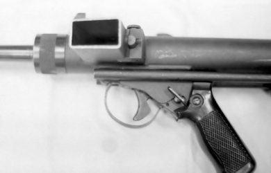 PAF - пистолет-пулемет Чили