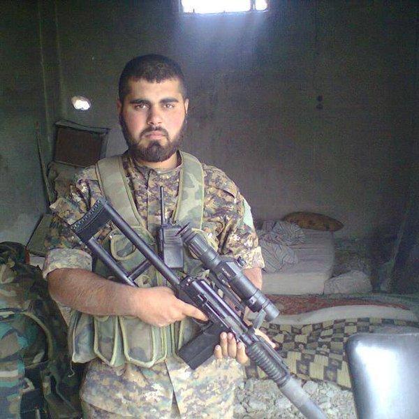 Снайперская винтовка ВСК-94 в Сирии