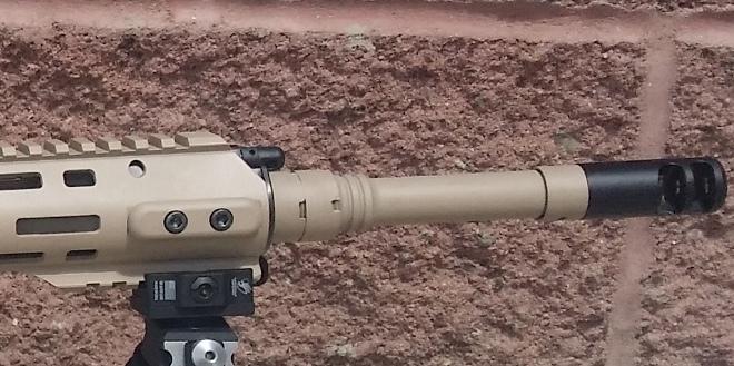 Газовая система винтовки Конева