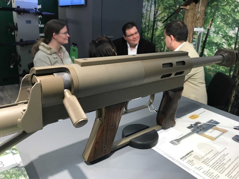 Semtecx Mini .50BMG - Пистолет калибром 12 мм, Германия