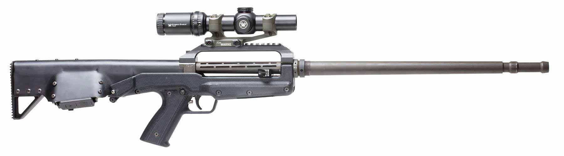 Прототип буллпап винтовки Kel-Tec .308