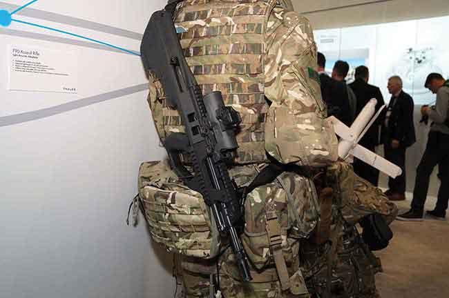 Штурмовая винтовка F90MBR является одной из самых компактных в своем классе
