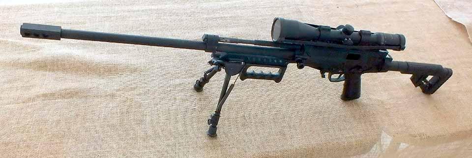 Снайперская винтовка IMBEL калибром 7.62x51 мм, Бразилия