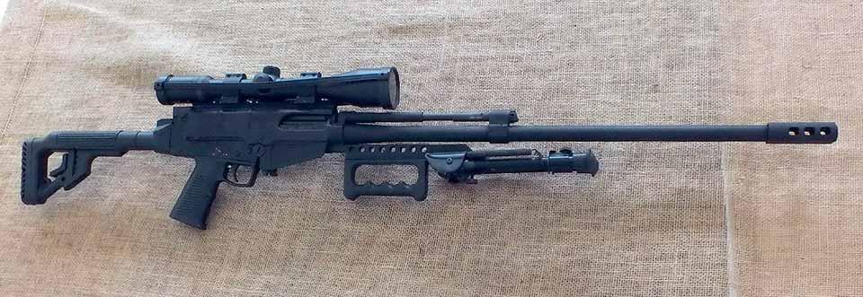 Вид снайперской винтовки IMBEL 7,62x51 мм справа
