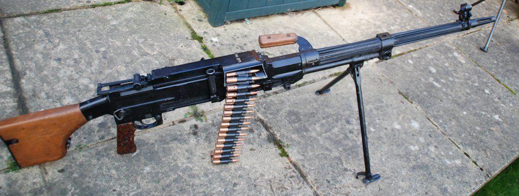Венгерский вариант пулемета Горюнова