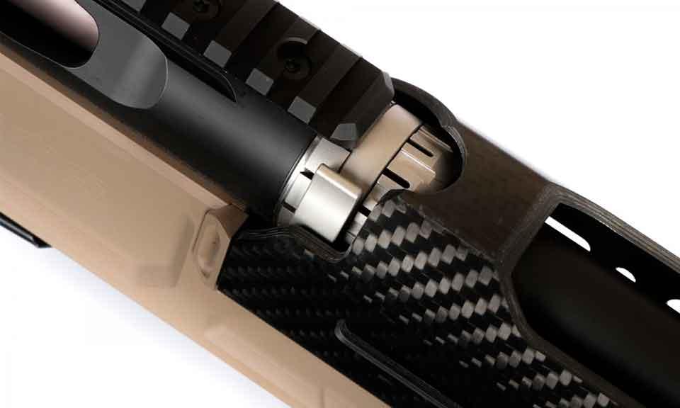 Магазинная винтовка NEMO Arms DAKKAR крепление ствола