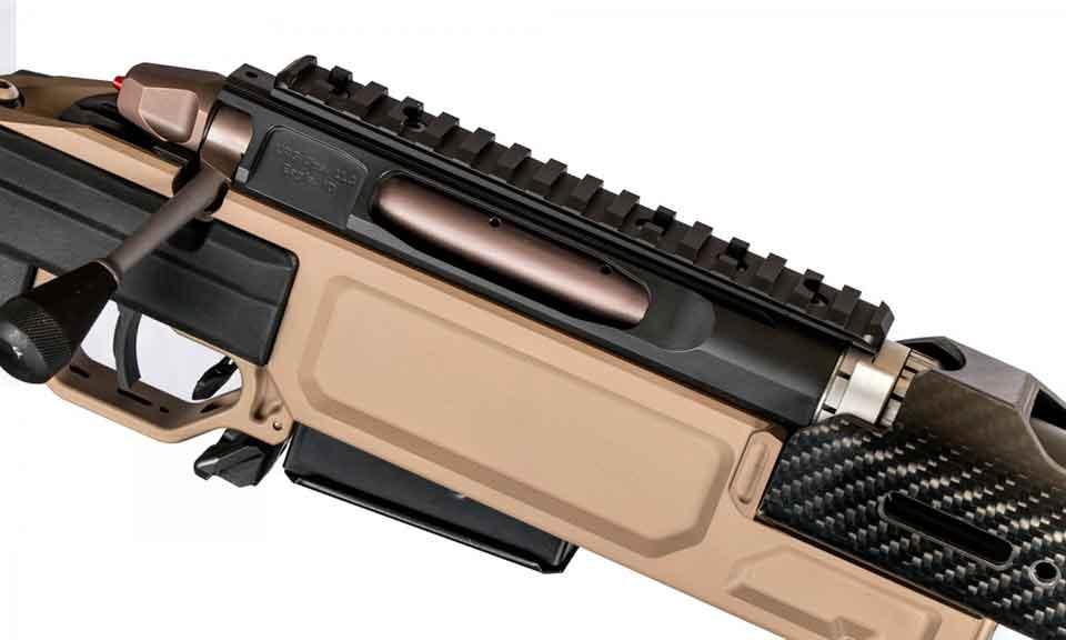 Магазинная винтовка NEMO Arms DAKKAR вид на затвор