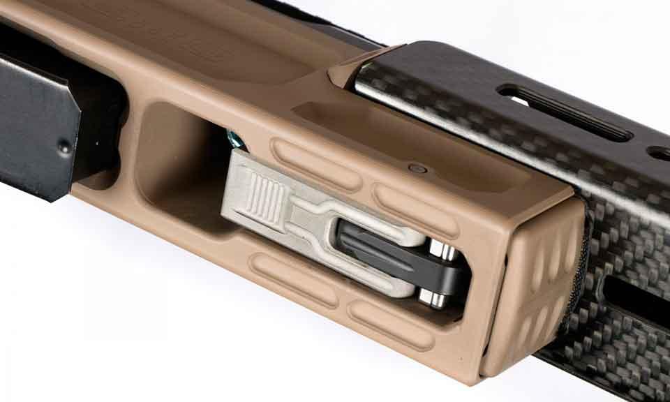 Магазинная винтовка NEMO Arms DAKKAR вид снизу