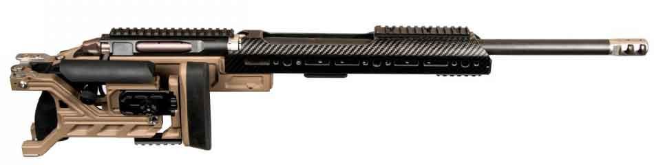 Магазинная винтовка NEMO Arms DAKKAR со сложенным прикладом