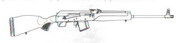 карабин Сайга-М