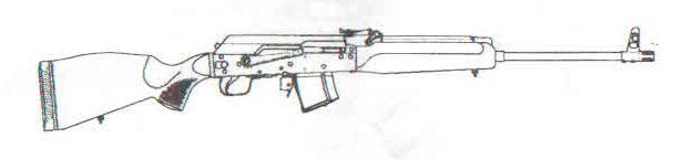 карабин Сайга исполнение M1