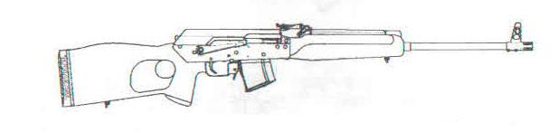 карабин Сайга исполнение M2