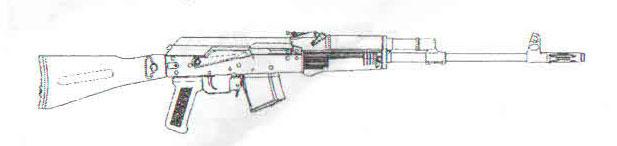 карабин Сайга-МЗ исполнение 01