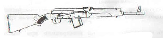 карабин Сайга исполнение 03