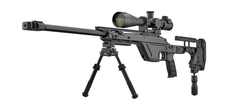 Снайперская винтовка TSR от компании CZ, Чехия