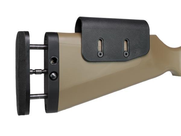 Регулируемые приклад и подщечник карабина K15A