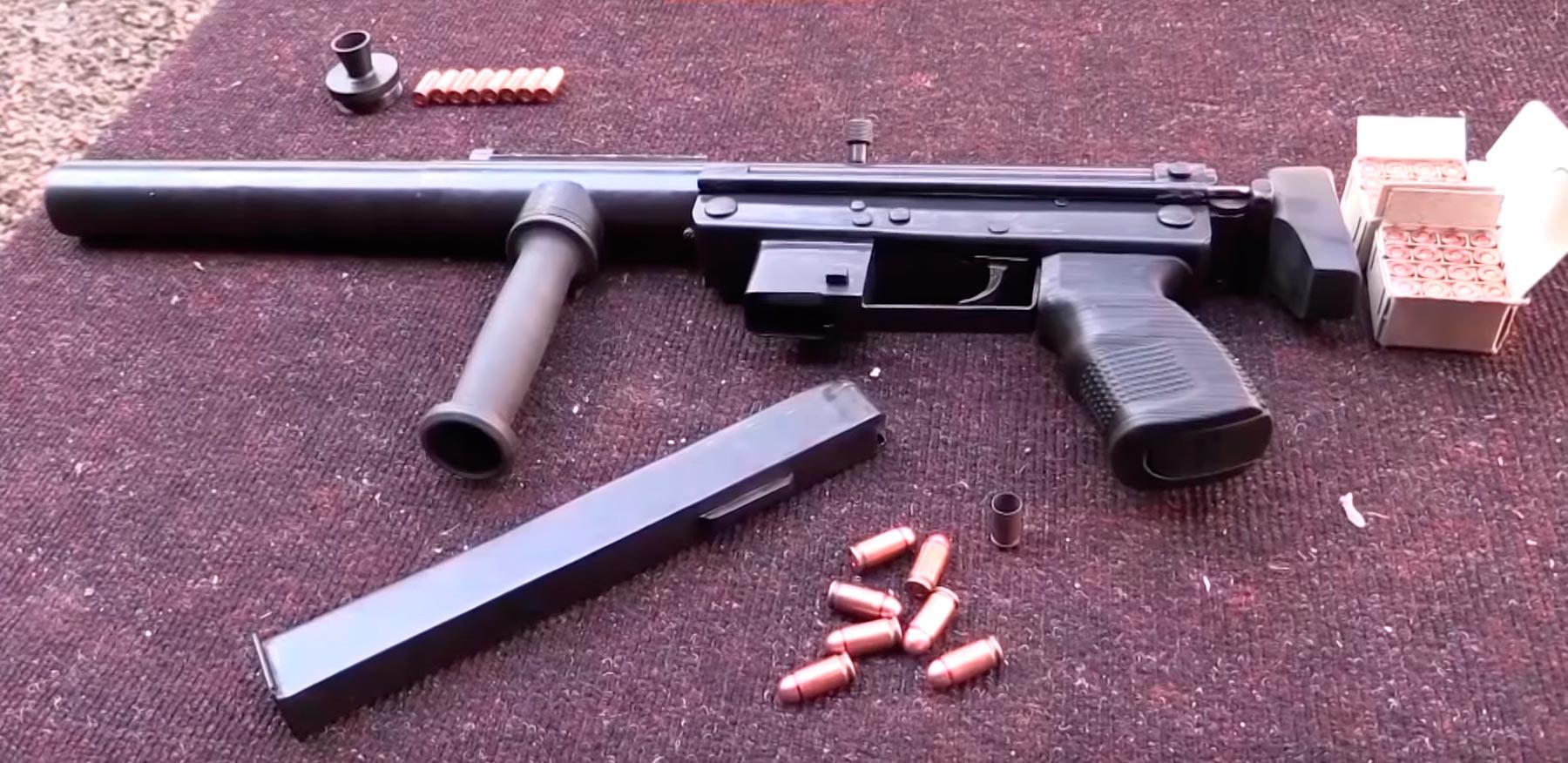 Пистолет-пулемет Оплот под патрон 9х18 мм