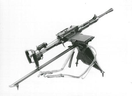 Станковый пулемет Breda Mod. 5C (Италия)