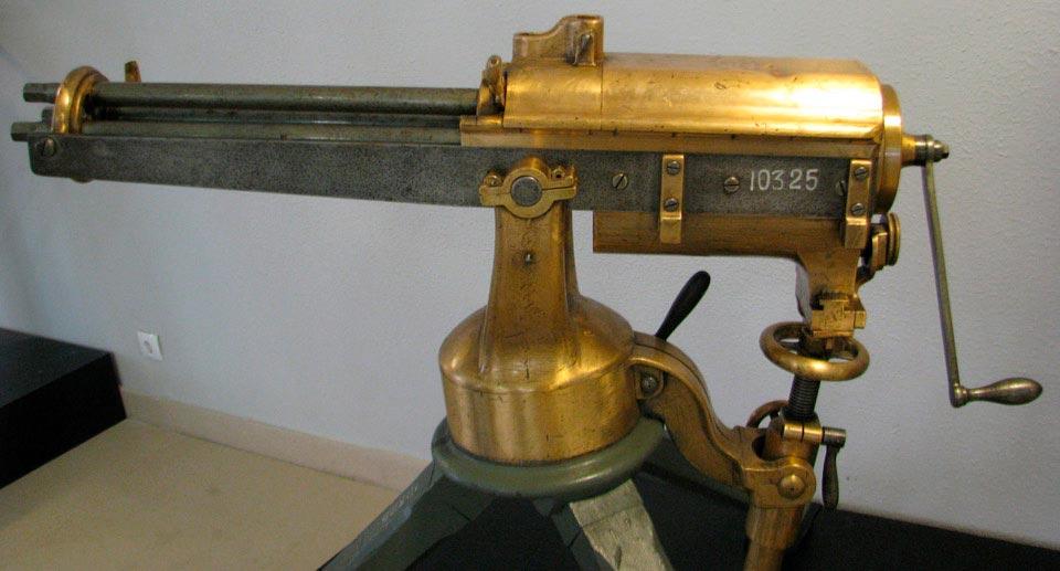 Митральезы Фарррингтона в Петербургском Военно-морском музее