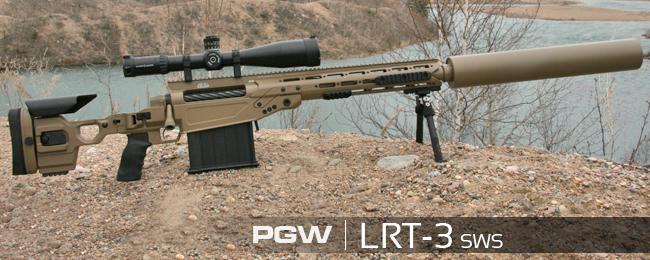 Крупнокалиберные снайперские винтовки LRT-3