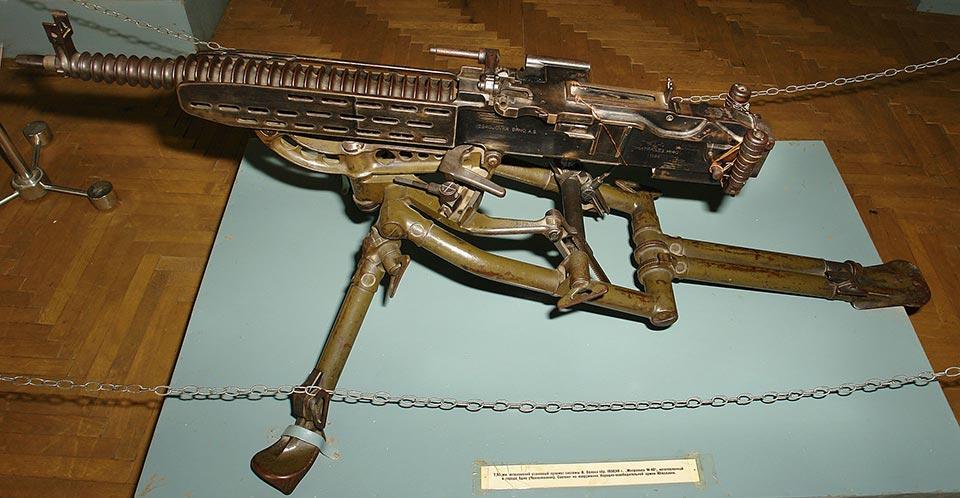 Станковый пулемет ZB-53 (Чехословакия)