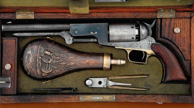 """Капсульный револьвер Colt Walker """"Капитан Датского моря"""""""