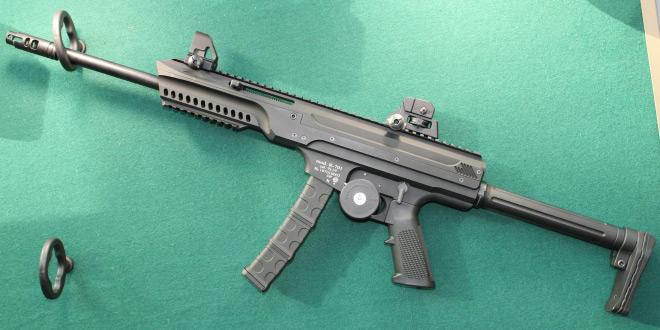 Пистолет-карабин Р-701 под патрон 9х19мм