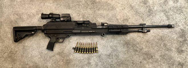 Новый легкий пулемет SIG Sauer под патрон .338 Norma Magnum