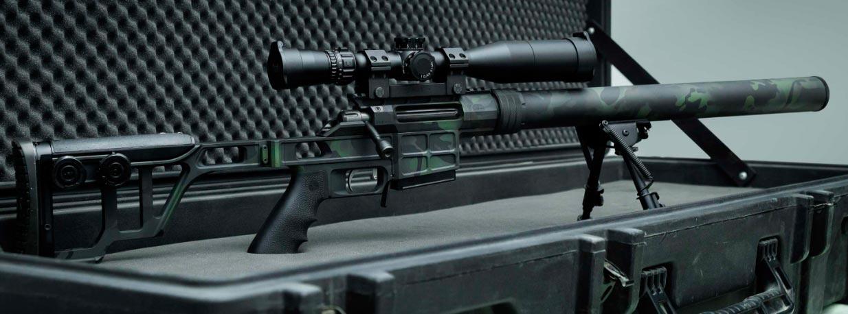 Модульная снайперская винтовка ДВЛ-10 М1 Диверсант