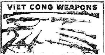 Брошюра армии США 1966 года, включала в себя материалы и об  оружии Вьетконга