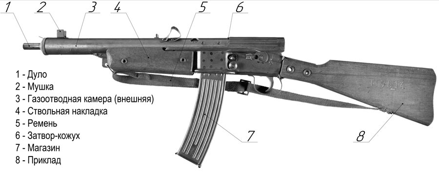 Эрзац оружие Фольксштурмгевер ФГ-45 (Volkssturmgewehr VG-45)