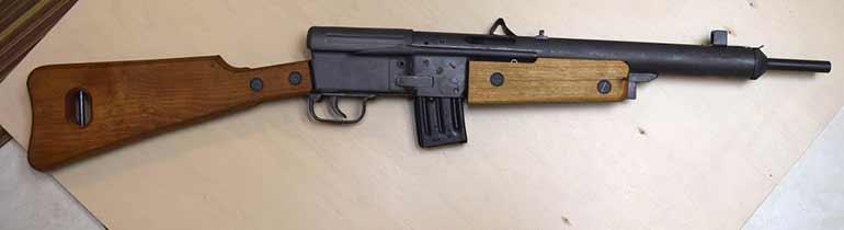 Самозарядный карабин ФГ-45 для фольксштурма