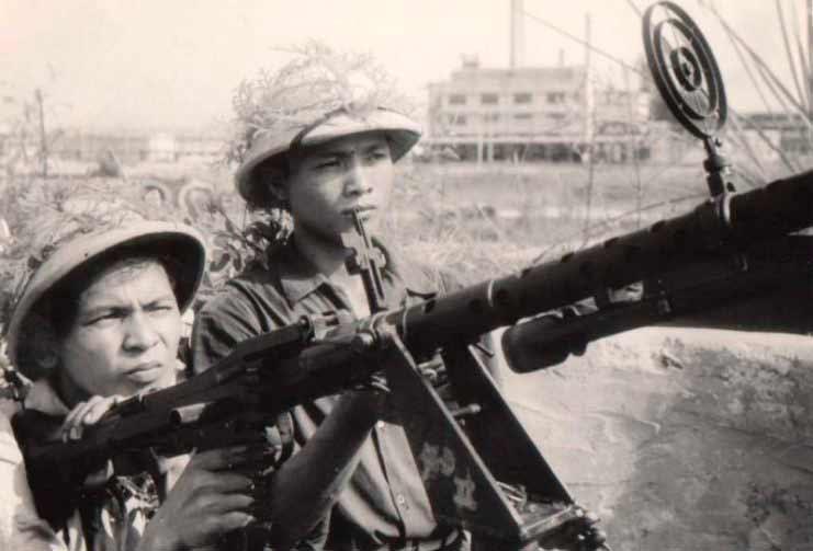 Пулемет МГ-34 на страже вьетнамского неба