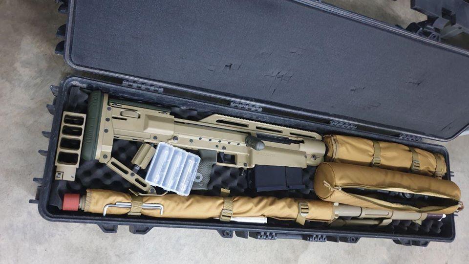 Контейнер для транспортировки крупнокалиберной винтовки Аллигатор